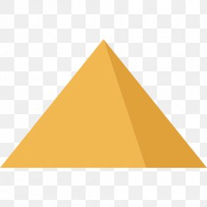 Pyramid - Triangle Shape Clip Art PNG