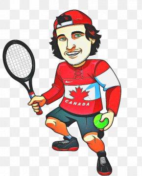 Playing Sports Cartoon - Badminton Cartoon PNG
