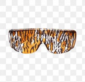 Glassy Tiger Pattern - Tiger Sunglasses PNG
