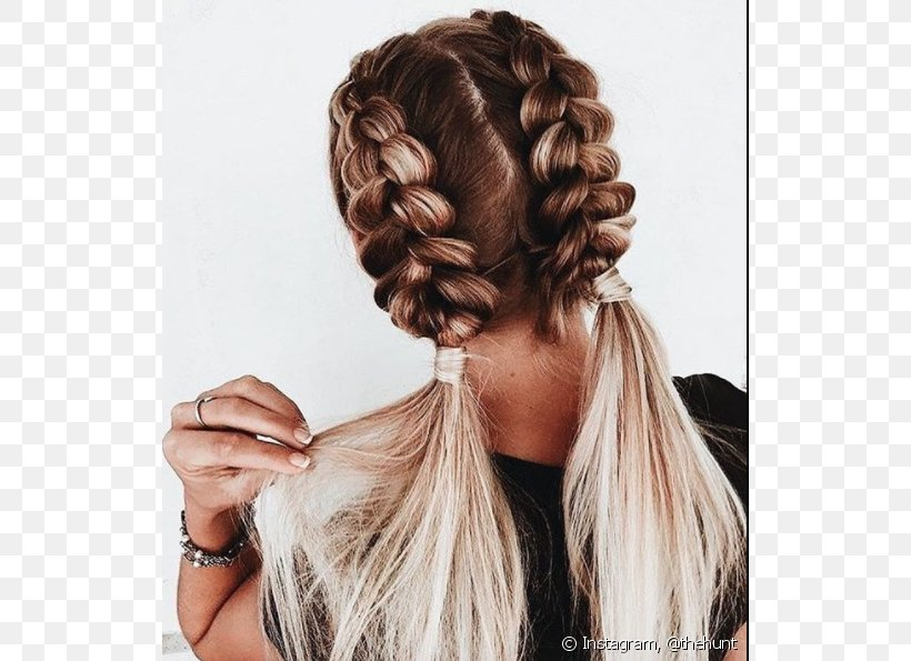Braid Hairstyle Ponytail Fashion Png 620x595px Braid Beauty Black Hair Brown Hair Capelli Download Free