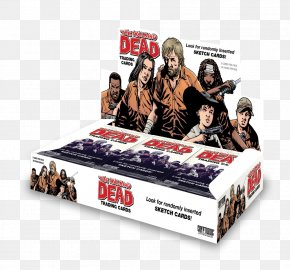 The Big Bang Theory - The Walking Dead Collectable Trading Cards Comic Book Playing Card Comics PNG