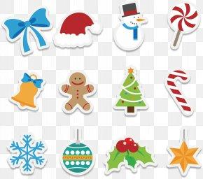 Cute Cartoon Christmas Icon - Christmas Euclidean Vector Icon PNG