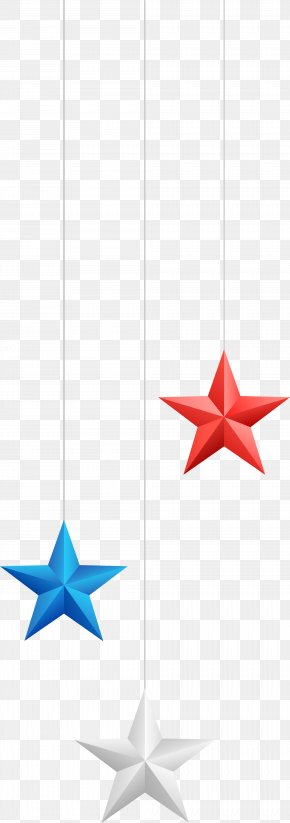 Color Star Ornaments - Wall Decal Sticker Star PNG