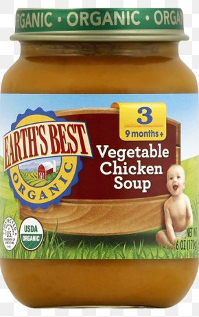 Chicken Soup - Organic Food Chicken Soup Baby Food Flavor PNG