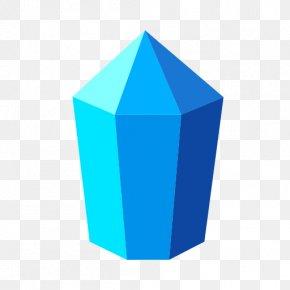 Color Crystal - Turquoise Cobalt Blue Aqua Teal PNG