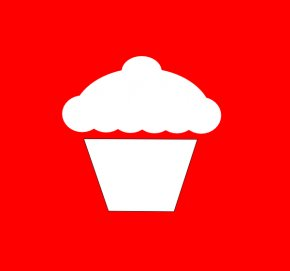 Cupcake Silhouette - Cupcake Muffin Birthday Cake Frosting & Icing Clip Art PNG
