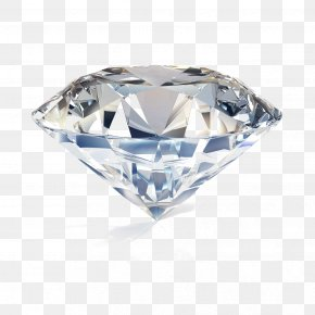 Diamond Image - Diamond Cut Jewellery Engagement Ring PNG