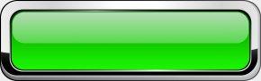 Green Banner - Button Clip Art PNG