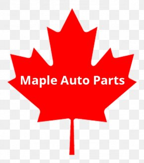 Auto Parts - Flag Of Canada Maple Leaf PNG