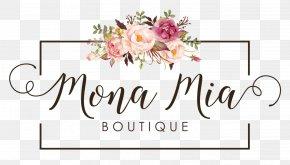 Items On Sale - Floral Design Brand Flower Bouquet Logo PNG