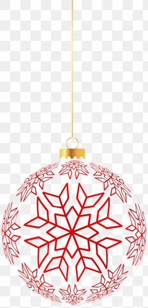 Transparent Christmas Ornament Clip Art - Christmas Ornament Santa Claus Clip Art PNG