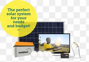 Solar Power Solar Panels Top - Mobisol Rwanda Warehouse Communication Solar Power Logistics PNG