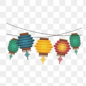 Mid-Autumn Festival Festive Lantern Material - Pattern PNG