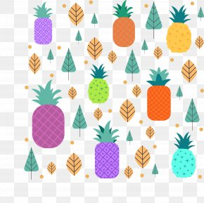 Color Pineapple Plant - Plant Violet Green PNG