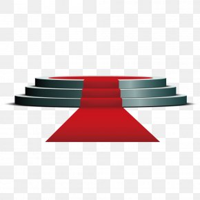 Circular Stage Red Carpet - Download Stage PNG