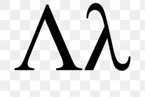 Fine Letters - Lambda Greek Alphabet Anonymous Function Lamedh Symbol PNG