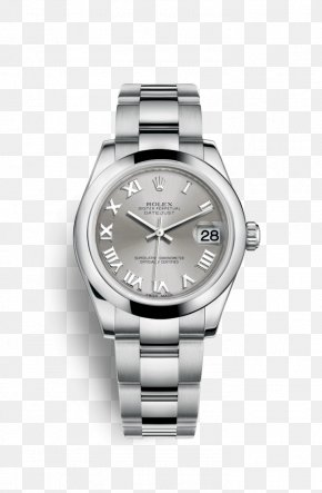 Rolex - Rolex Lady-Datejust Watch Astrua Gold PNG