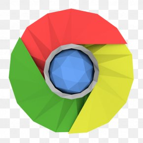 Low Poly - Low Poly Google Chrome PNG