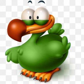 The Extinct Flightless Adium Bird - Flightless Bird Water Bird Duck Clip Art PNG