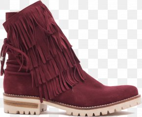 Fringe - Footwear Boot Shoe Suede Leather PNG