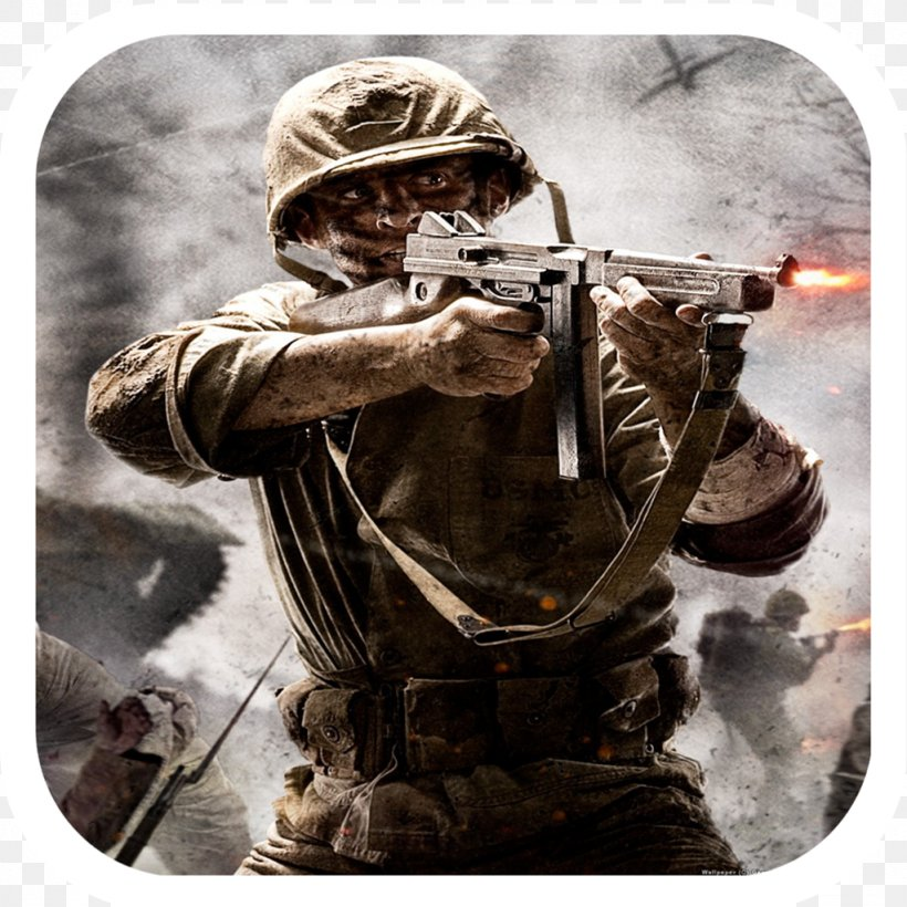 Call Of Duty: WWII Call Of Duty: World At War Call Of Duty: Zombies Call Of Duty 4: Modern Warfare, PNG, 1024x1024px, Call Of Duty Wwii, Call Of Duty, Call Of Duty 4 Modern Warfare, Call Of Duty Black Ops, Call Of Duty Black Ops Declassified Download Free