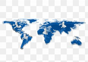 Business Sense Of Three-dimensional Villain And The World Map - Business Computer Network Service Sports Management Worldwide Sales PNG