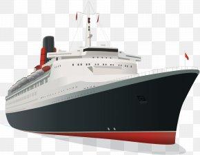 Vector Luxury Cruise Ship - Cruise Ship Luxury Yacht PNG