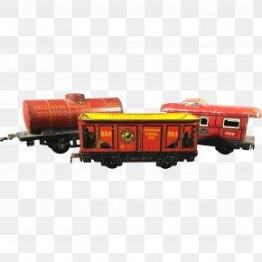 Toy-train - Train Passenger Car Railroad Car Locomotive Rolling Stock PNG