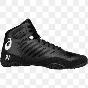 Shoe Box - ASICS Wrestling Shoe Sneakers Boxing PNG