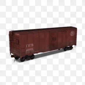 Train - Rail Transport Train Passenger Car Boxcar Railroad Car PNG