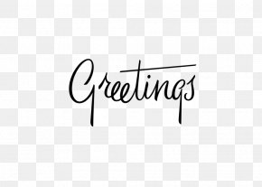 Greeting - Handwriting Typography Lettering Font PNG