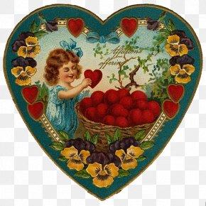 Valentine's Day - Victorian Era Valentine's Day Bokmärke Clip Art PNG