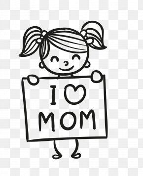 I Love My Mother For Mother's Day Gifts - Mother's Day Gift PNG