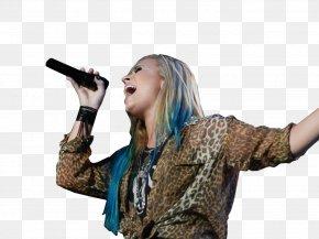 Demi Lovato - Demi Lovato Singer-songwriter Microphone Musician PNG
