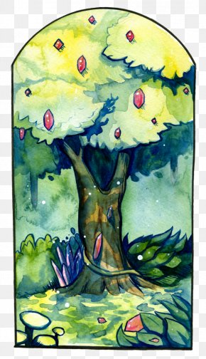 Painting - Watercolor Painting Tree Visual Arts PNG