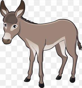 Donkey - Goat Farm Livestock Clip Art PNG