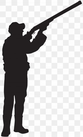 Hunter Silhouette Clip Art Image - Hunting Silhouette Clip Art PNG