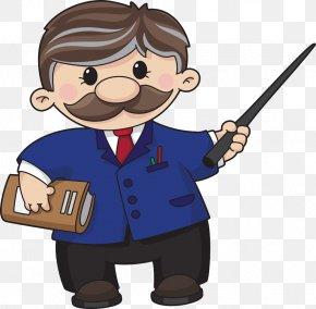 Cartoon Teacher - Teacher Clip Art PNG