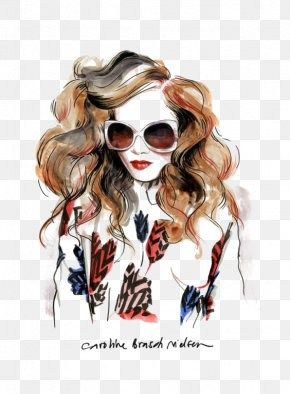 Graffiti Fashion Beauty - Watercolor Painting Fashion Illustration Drawing Illustration PNG