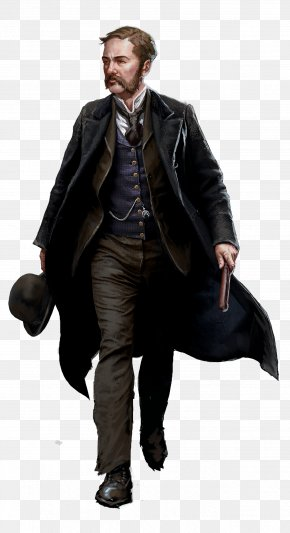 Assassin Creed Syndicate - Inspector Frederick Abberline Assassin's Creed Syndicate Metropolitan Police Service Chief Inspector PNG