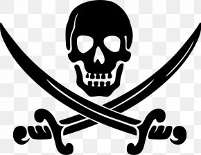 Pirate - Piracy Jolly Roger Clip Art PNG