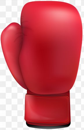 Red Boxing Glove Clip Art - Boxing Glove Clip Art PNG