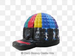 Bouncy Castle - Disco Dome Hire Party Inflatable Bouncers Helmet Entertainment PNG