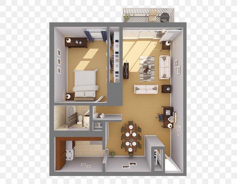 Floor Plan Studio Apartment House
