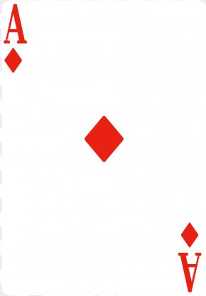 Card Diamond Cliparts - Playing Card Ace Of Hearts Suit Ace Of Spades PNG