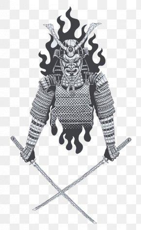 Vector Material Samurai Armor - Samurai Katana Sword Japanese Armour Illustration PNG