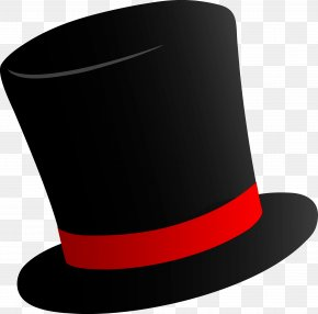 Cylinder Hat Image - Willy Wonka Top Hat Party Hat Clip Art PNG