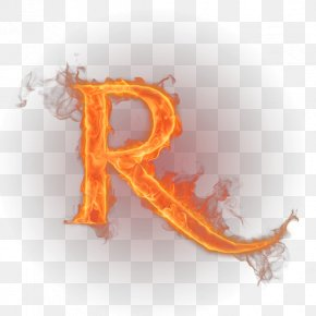 Flame Letter - Letter Flame English Alphabet Fire PNG
