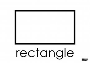 Rectangle - Coloring Book Rectangle Shape Square PNG