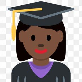 Emoji - Emoji Graduation Ceremony Graduate University Student Clip Art PNG